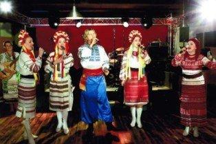 Украинская вечеринка в Москве