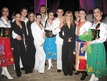 ukransky ballet and Song