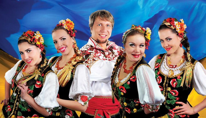Concert of Ukrainian folk songs