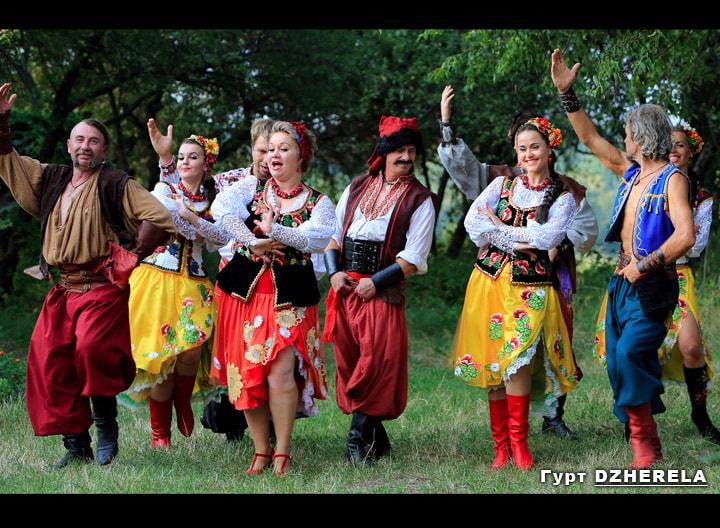 украинские танцевальные песни