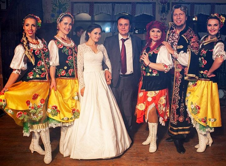 свадьба, молодята