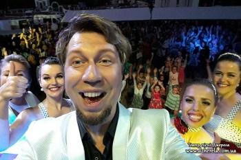 Театр пісні DZHERELA: селфі на сольному концерті в Полтаві