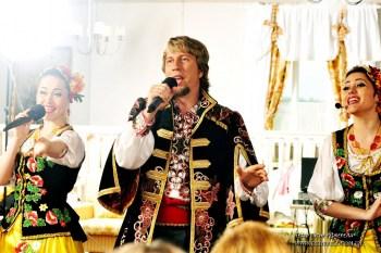 Выступление на юбилее: украинские веселые песни