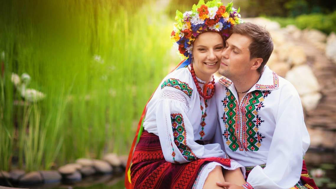 Украинская свадьба от Ольги Токарь